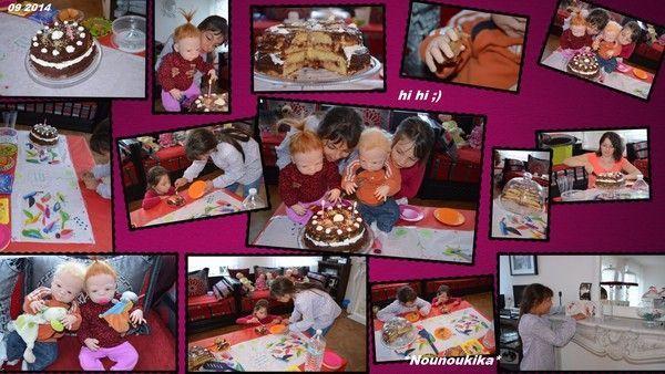 Un Gâteau pour des poupées! :)